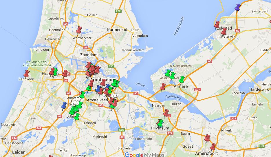 Datacenters Noord-Holland Flevoland
