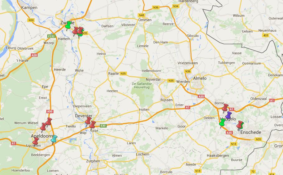 Datacenters Overijssel Gelderland