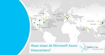 Waar staan de Microsoft Azure datacenters?