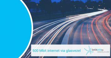 500 mbit internet glasvezel